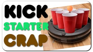 Kickstarter Crap - Roomba Pong, Breweries, & Artix Cooler