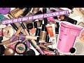 GETTING RID OF HALF MY MAKEUP COLLECTION | DECLUTTERING ALL OF MY FACE PRODUCTS!