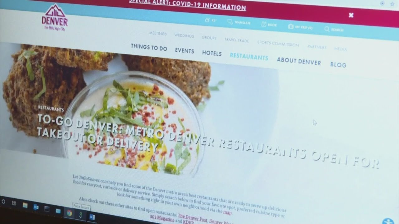 Denver Website Aims To Help Restaurants