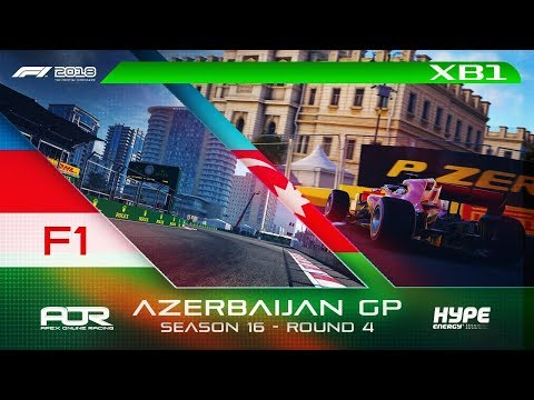 F1 2018 | AOR Hype Energy F1 League | XB1 | S16 | R4: Azerbaijan GP