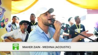Maher Zain LIVE di Pesta Buku Selangor 2016 - MEDINA (ACOUSTIC)