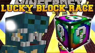 Minecraft: EVIL GOLDEN LUCKY BLOCK RACE - Lucky Block Mod - Modded Mini-Game