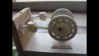 3D printed alpha Stirling engine - moteur Stirling Alpha imprimé en 3D