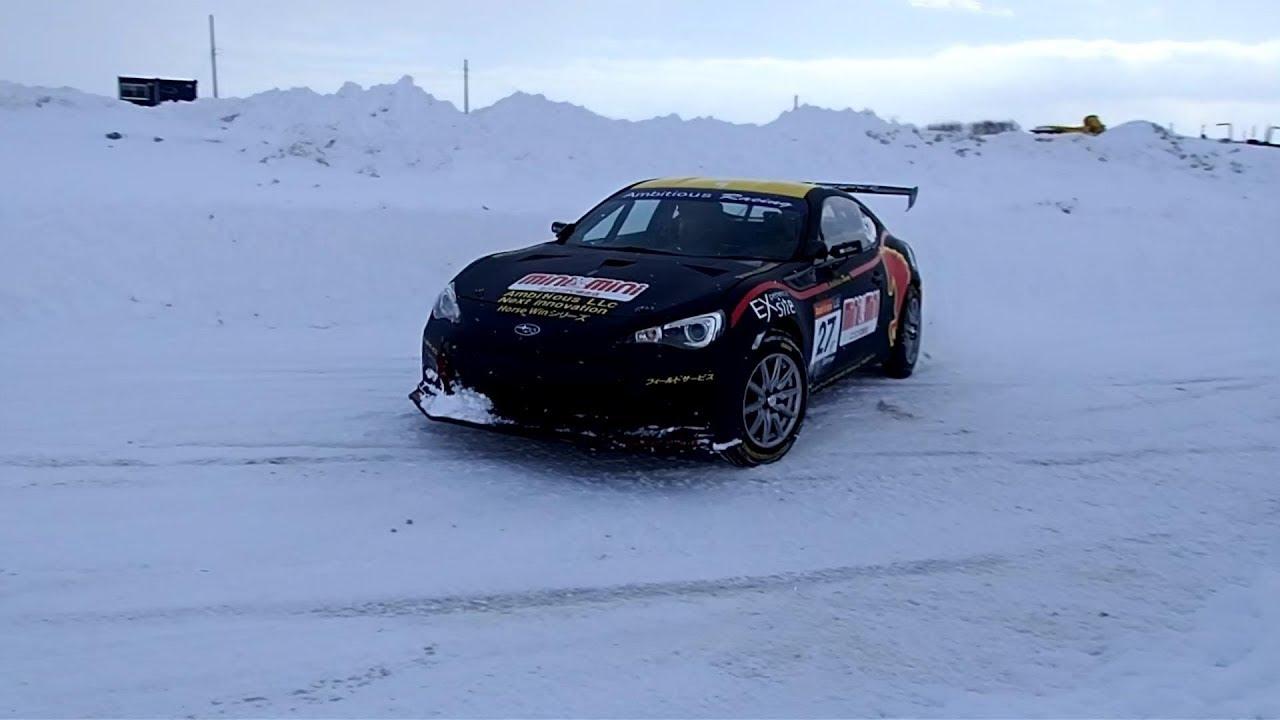 【雪上超速ドリフト】レーシングマシン同乗体験