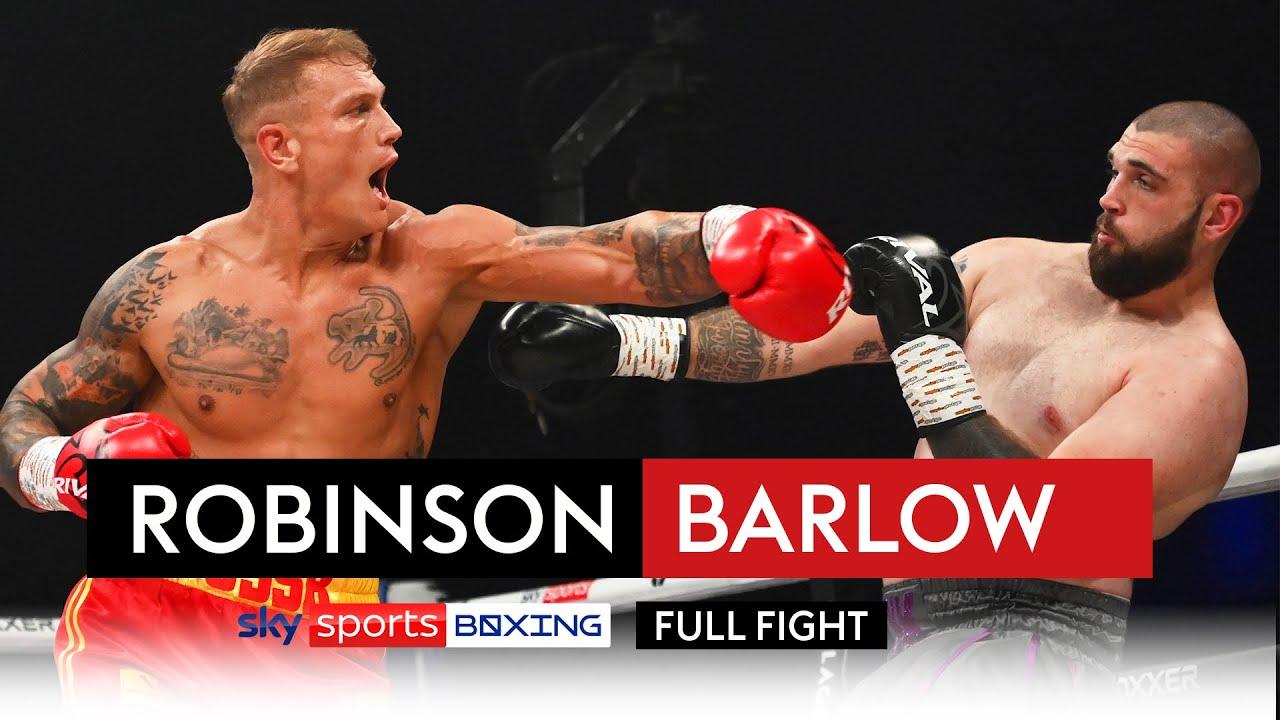 Download FULL FIGHT! Steve Robinson vs Reece Barlow | HUGE KO 🤯