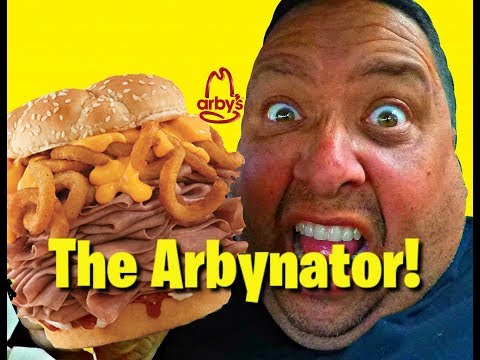 Arby's | We Have The Meats™...The Arbynator REVIEW! CC