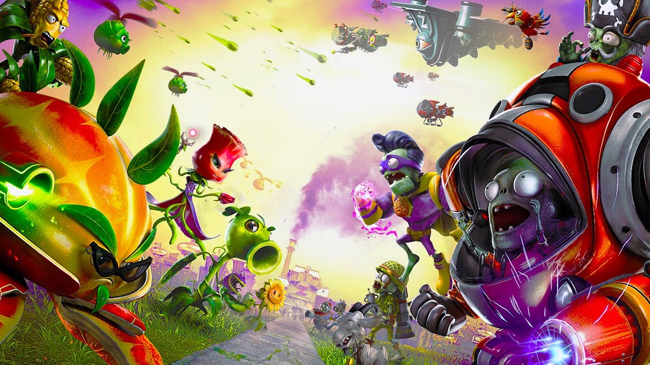 Plants Vs Zombies Garden Warfare 2 Multiplayer Plants Vs Zombies Youtube