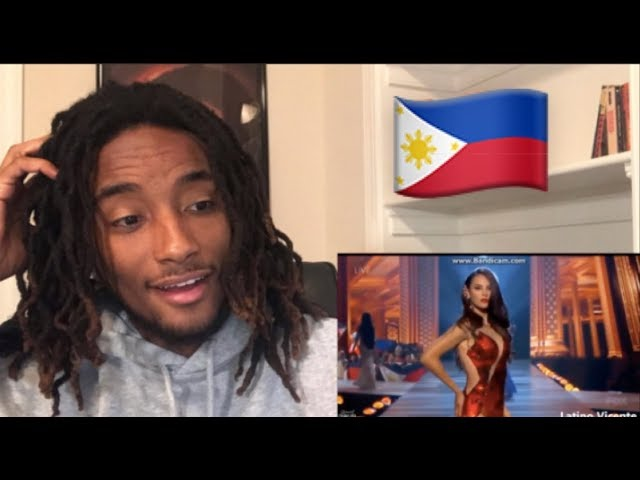 Catriona Gray Miss Universe 2018 Winner Philippines Reaction