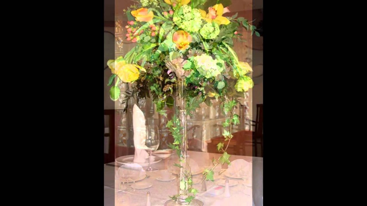 Kwiatowe Dekoracje Stolu Youtube