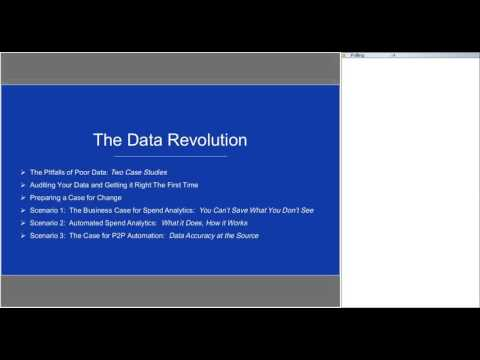 The Data Revolution - How data is changing the procure-to-pay process