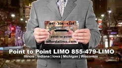 Affordable Limo Point to Point Limousine Service Illinois Indiana Iowa Michigan Wisconsin