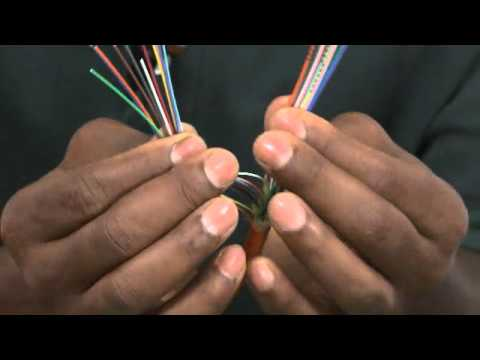 Identifying Fibers on Hybrid Cables