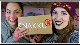 SNAKKU BOX - Snack ai FAGIOLI AZUKI e MATCHA!