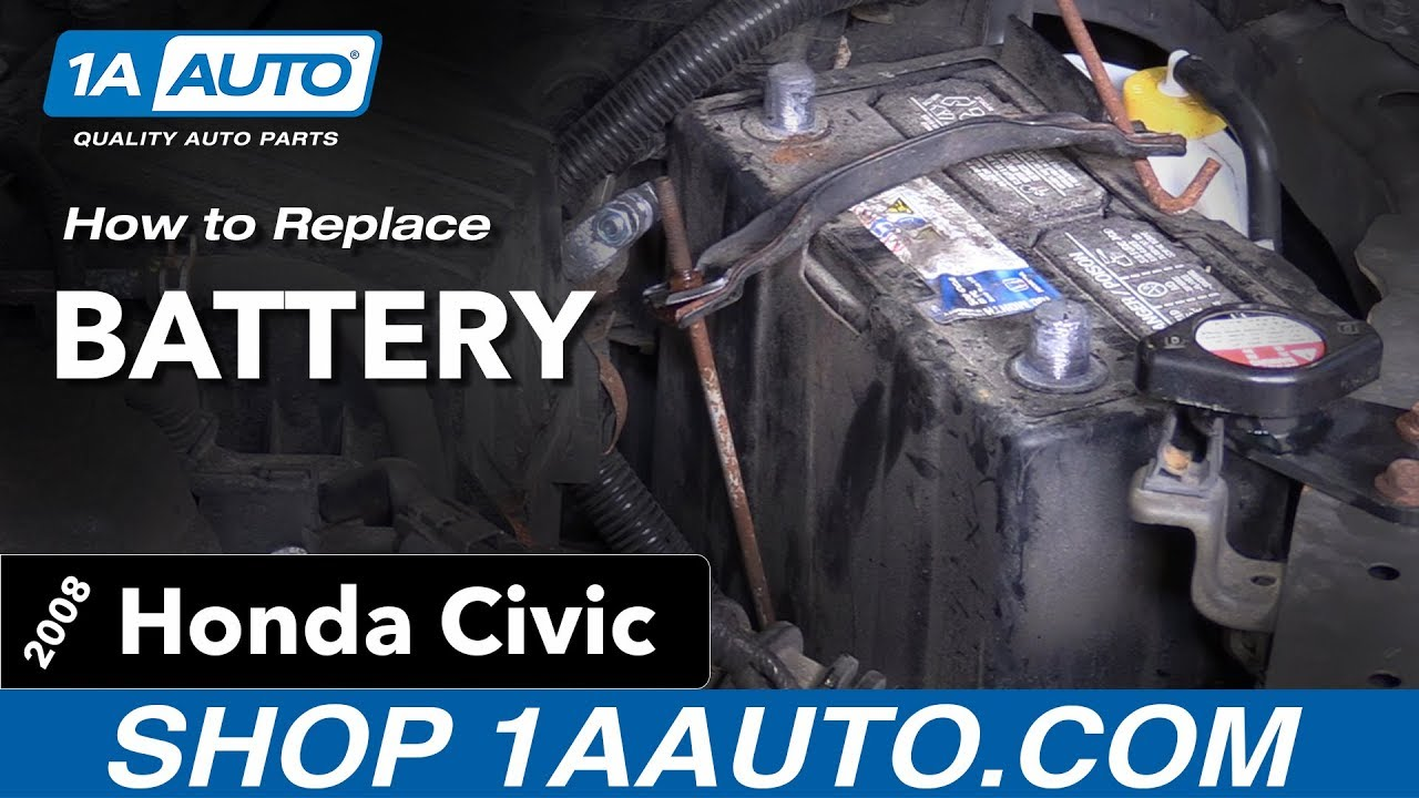 How To Replace Battery 05 11 Honda Civic
