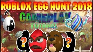 HOW TO GET THE INKWELL EGG AND THE TEAPOT EGG (Roblox Egg Hunt 2018)