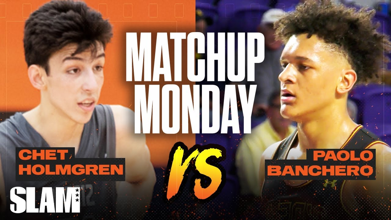 Chet Holmgren vs Paolo Banchero: Who's the #1 Big Man in 2021!? SLAM Matchup Monday
