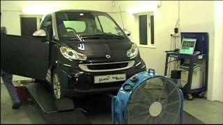 smart fortwo cdi rolling road remapping