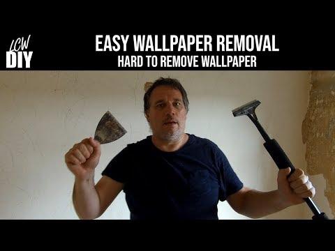 Easy Wallpaper Removal Tough Stubborn Hard To Remove