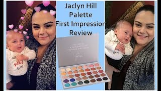 JACLYN HILL x MORPHE PALETTE FIRST IMPRESSION TUTORIAL