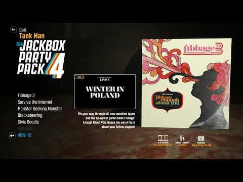 nL   Survive The Internet & Fibbage 3! + Fibbage Enough About You! Jackbox Party Pack 4