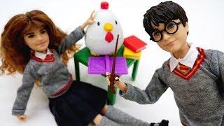 Гарри Поттер и его друзья в школе магии - Неудачное превращение