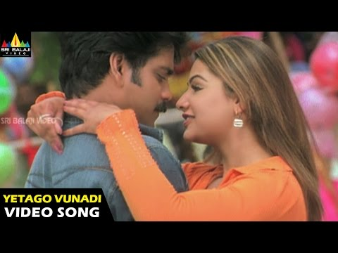 Nenunnanu Songs | Yettago Vunnadi Video Song | Nagarjuna, Aarti Aggarwal, Shriya | Sri Balaji Video