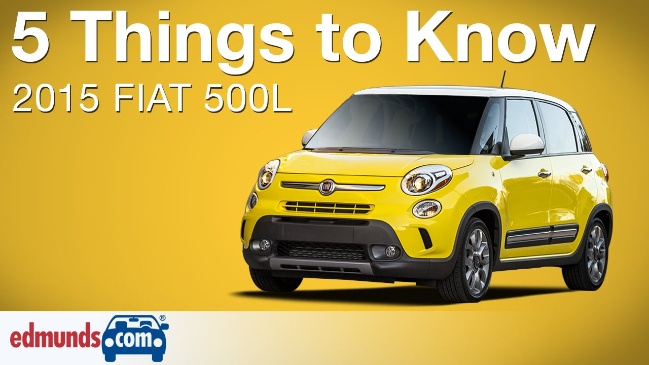 Unique 5 Things To Know About The Fiat 500L  YouTube