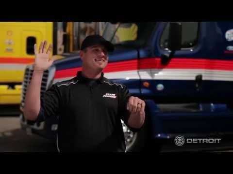 NASCAR Hauler Driver Detroit DT12 Testimonials