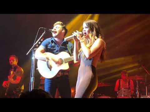 Seeing Bling Niall Horan & Maren Morris    7-18-18 Houston 2018