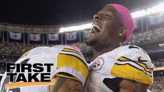 Le'Veon Bell Important To The Pittsburgh Steelers? | First Take | July 18, 2017