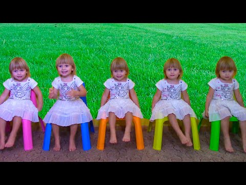 Thumbnail: Five little Babies Jumping on the bed song, Five Bad Baby & Nursery Rhyme for children, baby songs