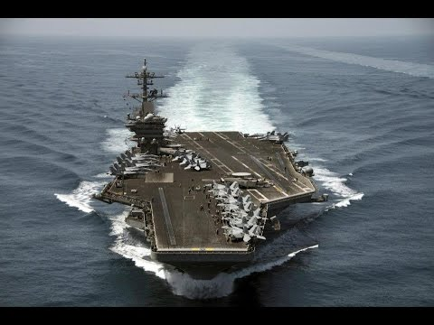 USS Theodore Roosevelt CVN71 - Deployment March 11, 2015