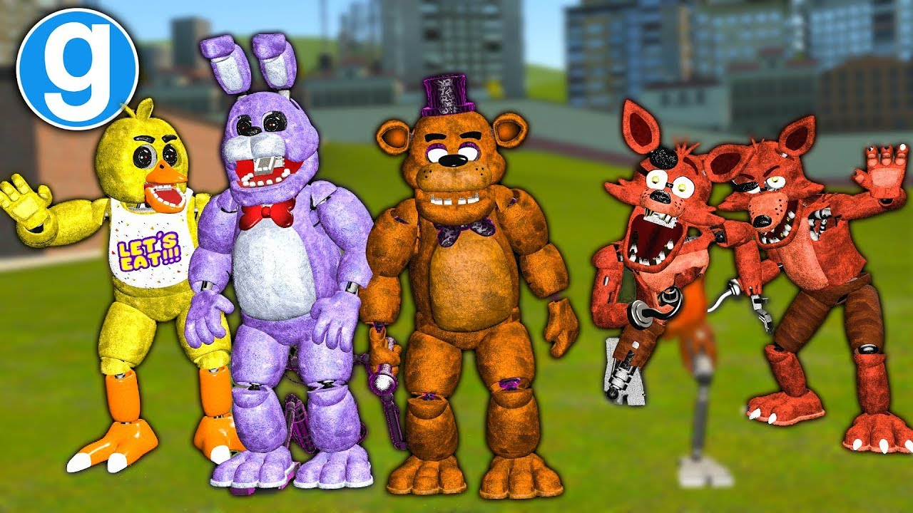 New Fazbear Ultimate Pill Pack Update Five Nights At Freddys Gmod