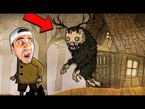 مغامرات طفل في الغابة ! البيت المهجور 😱🔥 - Creepy Tale