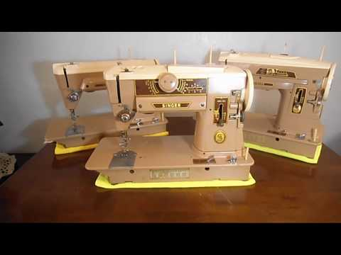 SINGER MODELS 401A 403A 404 COMPARING THE BUILD AND FEATURES