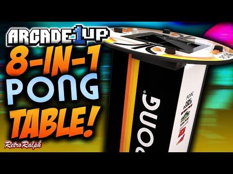 Arcade1up - CES 2021 - 8 in 1 Atari Pub Table! from Retro Ralph