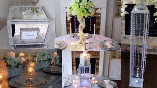BEST Dollar Tree DIY Wedding Decorations | Top 5 Bling Wedding DIYs