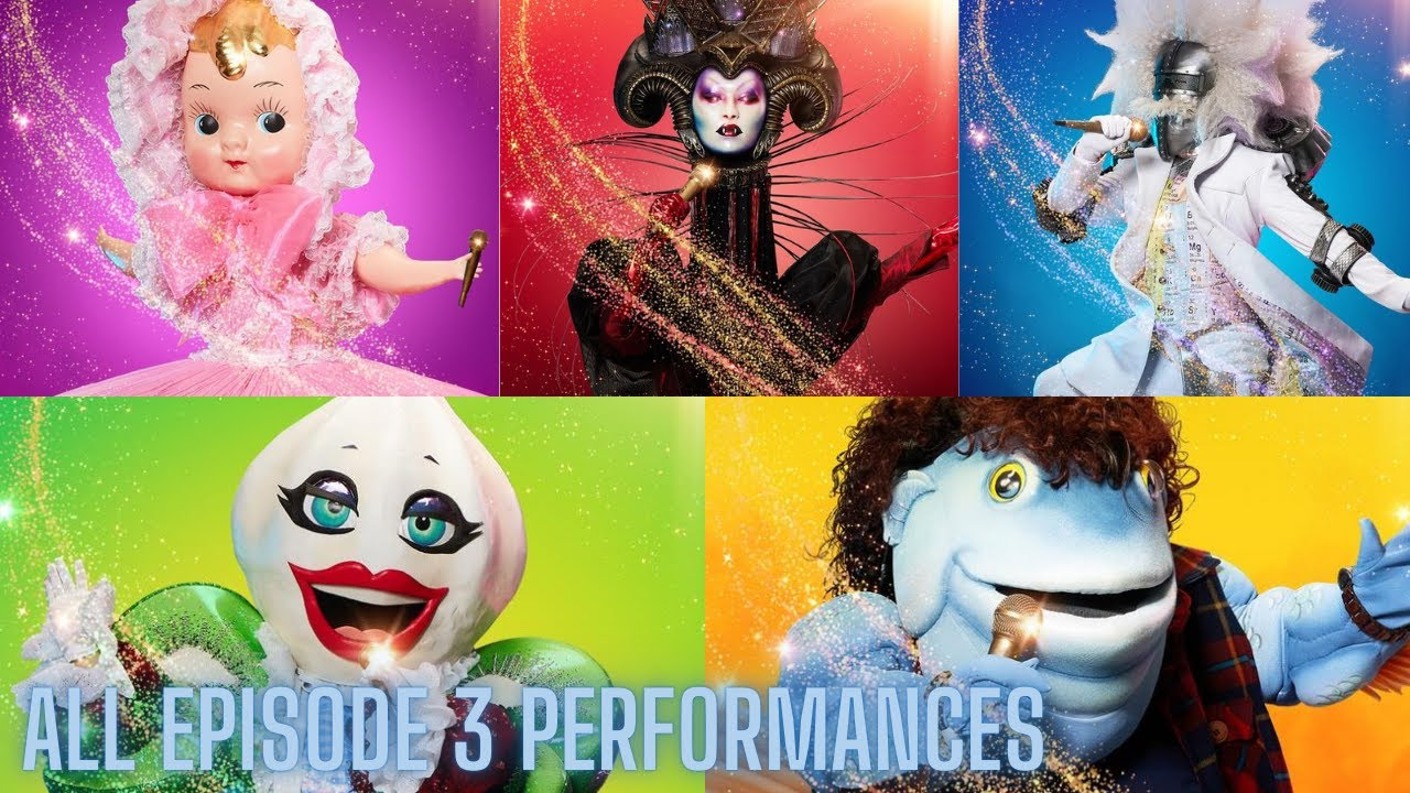 Download All Episode 3 Performances   The Masked Singer Season 3