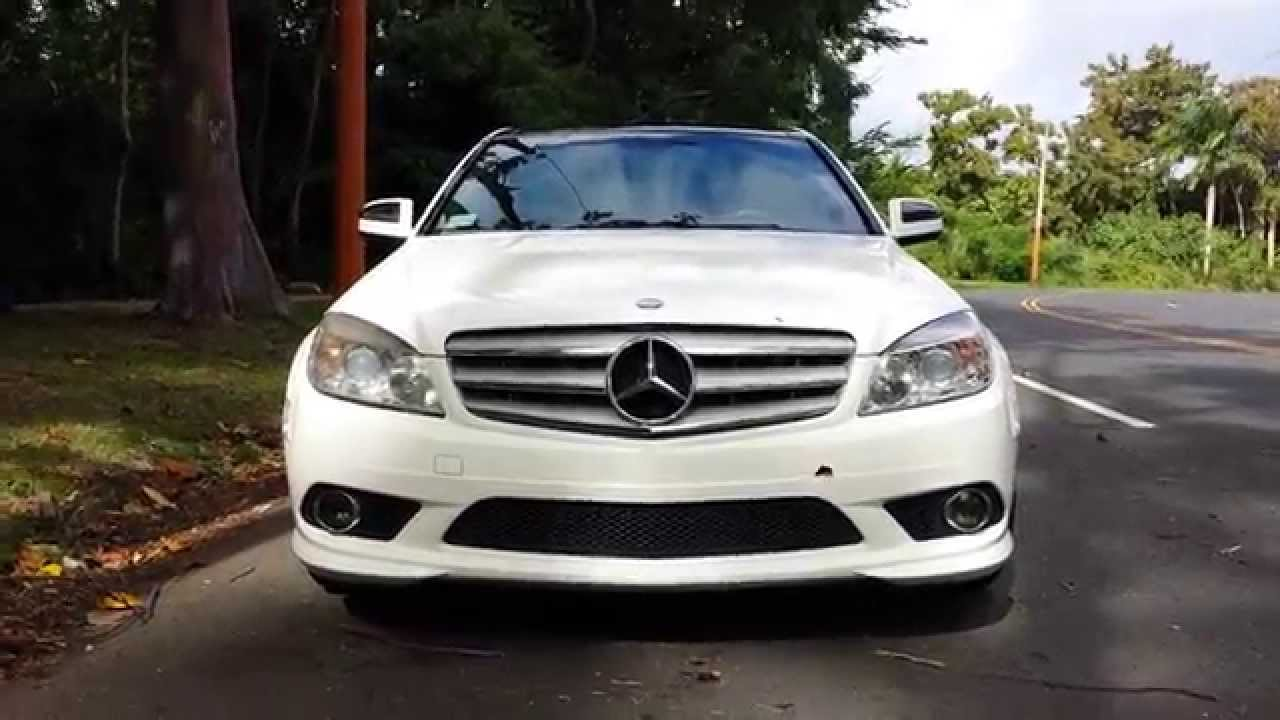 Mercedes C300 Amg Sport Package 2009 Youtube