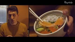 Японская забегаловка - обед в городе Камакура. Что едят японцы.