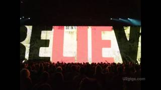 U2 Glasgow The Fly Intermission (Bono live vocals?) 2015-11-06 - U2gigs.com