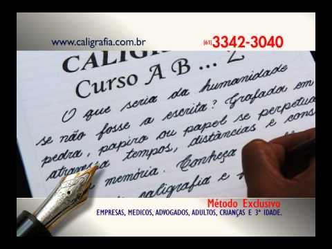 Curso de caligrafia online
