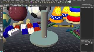 Toy Tutorial 09: Create A Ring Toy With Wood Grain Texture