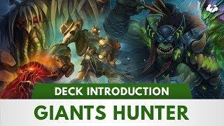 Hearthstone Deck Introductions | Giants Hunter [Kobolds & Catacombs]
