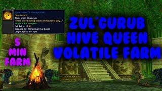 5 Minute WoW Gold farm - Hive Queen (Zul'Gurub)