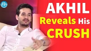 akhil reveals his crush akhil naga chaitanya sruthi hassan funny interview about premam