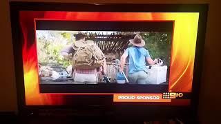 Channel Nine Sponsor Billboard Orange November 2018