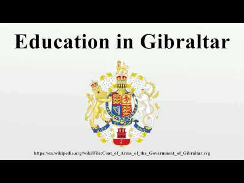 Education in Gibraltar