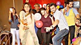 Divyanka Tripathi's CRAZY DANCE With Adi & Ruhi | Ye Hai Mohabbatein 1000 Episode