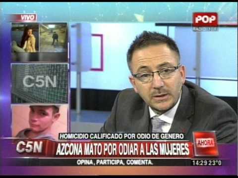 C5N - CRIMEN DE NICOLE: PROCESARON A LUCAS AZCONA POR ODIO DE GENERO